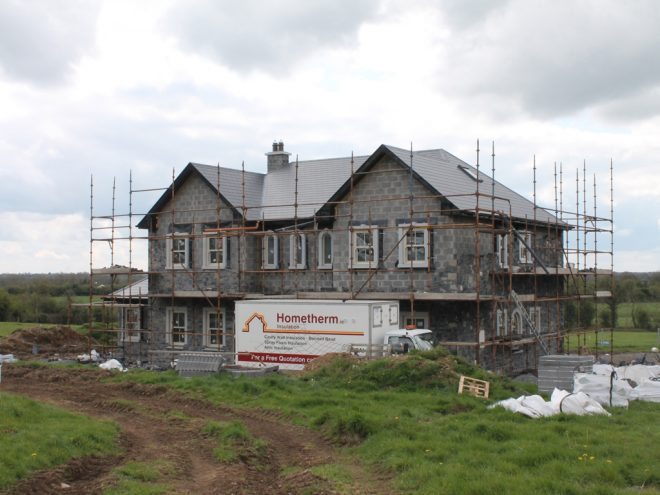 New Build - Cavity Wall Insulation - Two Story House , Co. Meath